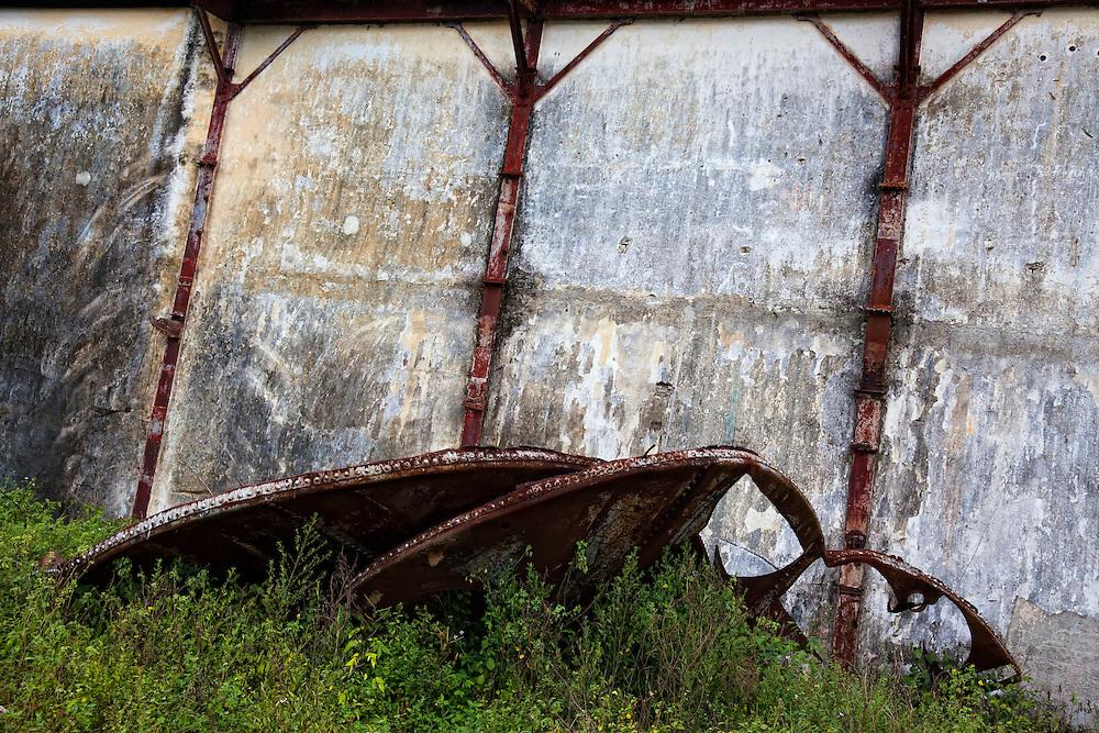Sugar mill in Guayos, Sancti Spiritus, Cuba.