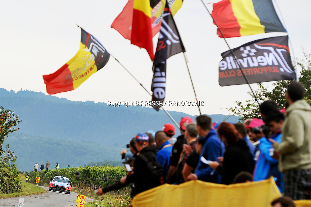 Thierry Neuville (BEL) - Nicolas Gilsoul(BEL) - Hyundai I20 WRC