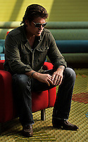 Country Artist Billy Ray Cyrus poses for a photo on  Wednesday, June 8, 2011 in Nashville, Tenn. AP Photo/ Donn Jones .