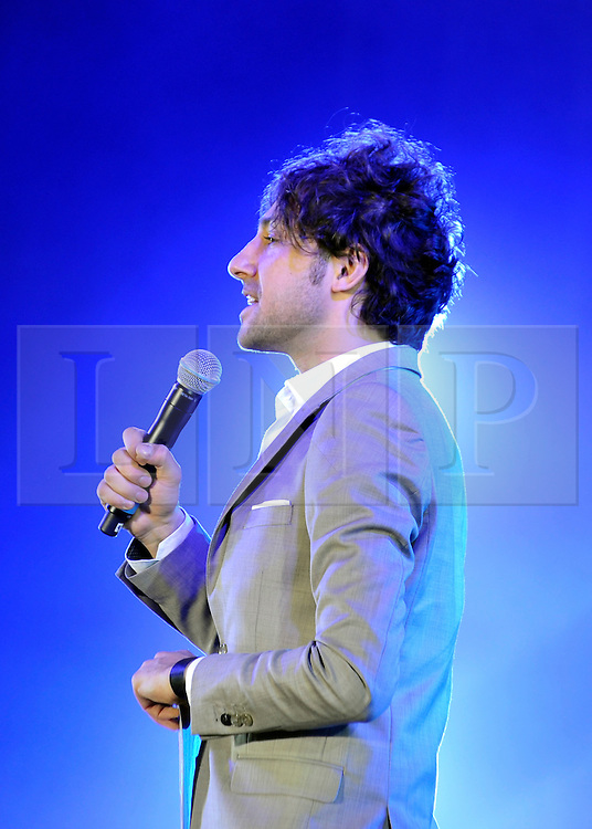 © under license to London News Pictures. LONDON, UK. SKYFEST 2011. DAY ONE. Alex Zane. Mandatory credit: Stephen Simpson/LNP.