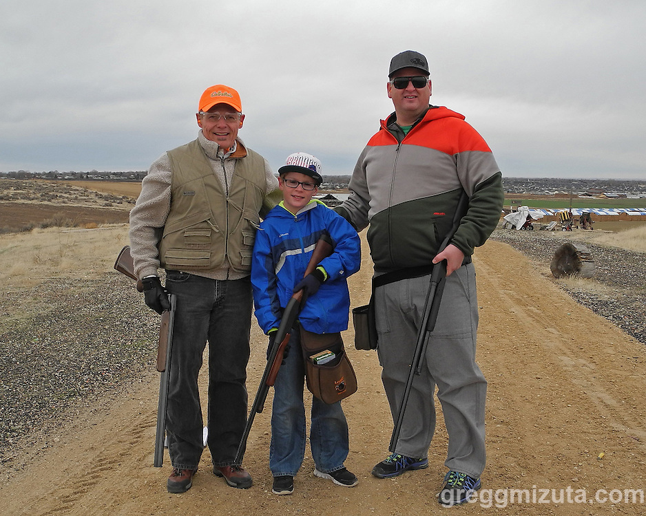 1st Annual Claude See Holiday Sporting Clay Competition on December 21, 2012 at Black Dog Clay's in Boise, Idaho.