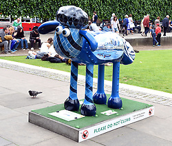 Shaun In The City - 50 sheep were displayed in iconic London landmarks during The London Trial of Shaun in the City from 28th March - 28th May 2015.