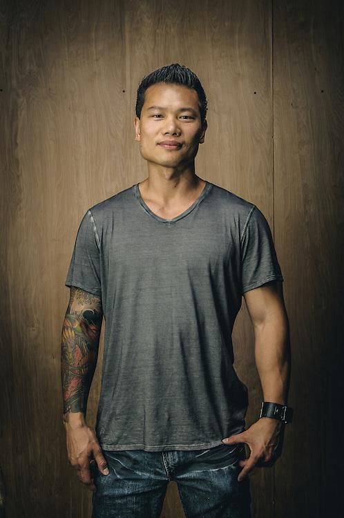 Danny Sun, artist   Board Rescue