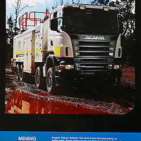Scania Mine Site Service Vehicle