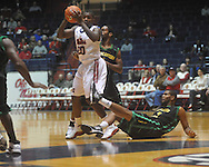 "Ole Miss guard Nick Williams (20) against Southeastern Louisiana at the C.M. ""Tad"" Smith Coliseum in Oxford, Miss. on Sunday, January 2, 2011. Mississippi won 68-59. (AP Photo/Oxford Eagle, Bruce Newman)"