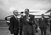 1967 - His Royal Highness Prince Bernhardt of the Netherlands arrival at Dublin Airport
