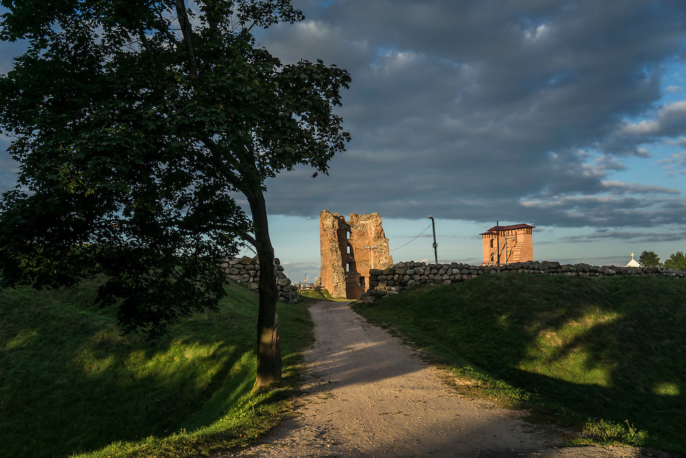 The ruins of Navahrudak Castle, one of the key strongholds of the Grand Duchy of Lithuania, on Friday, September 16, 2016 in Navahrudak, Belarus.