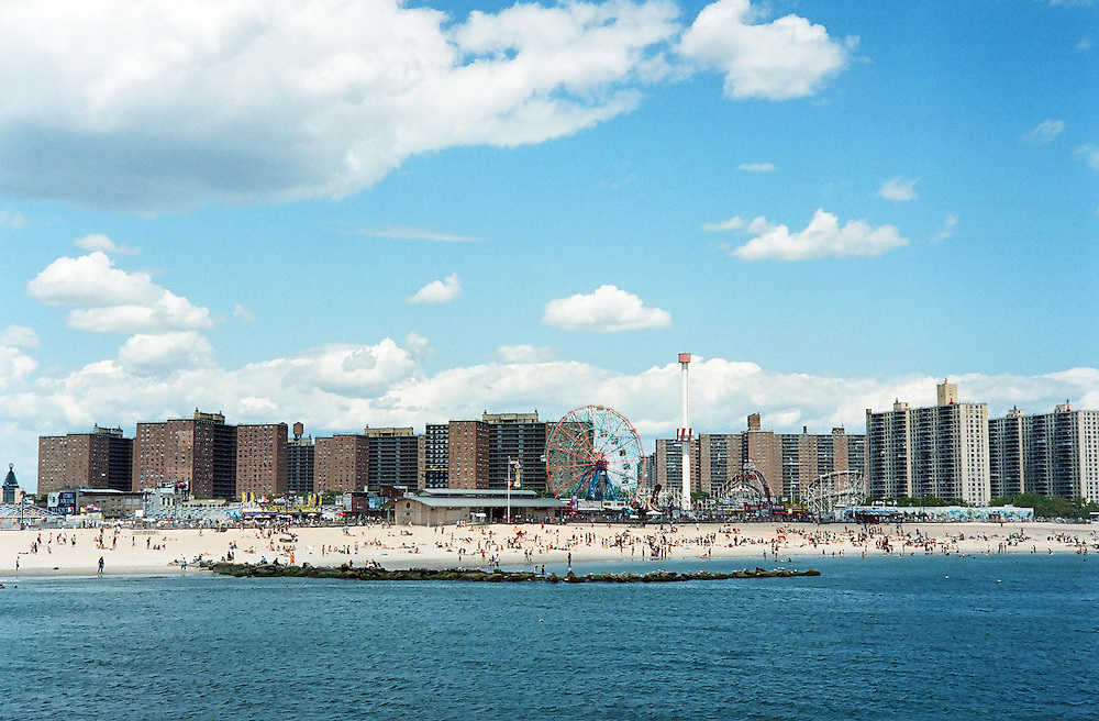Coney Island in the summer of 2010. New York.