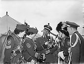 1958 - Military tattoo at Santry Stadium, Dublin
