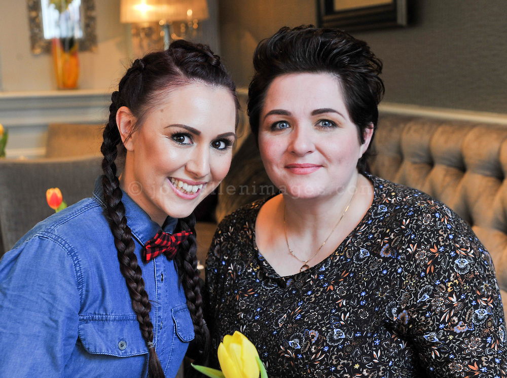 REPRO FREE<br /> Make Up artists Mary T Allen and Helena K Mua from Powder and Plait pictured at the Irish Fashion Design Showcase organised by frock advisor and Wear We Wander at the Blue Haven Hotel in Kinsale.<br /> Picture. John Allen<br /> <br /> For immediate release - Contact &amp; Enquiries for further details Bronwyn Connolly 0894389844<br /> <br /> Frockadvisor, Ireland's only Fashion app supporting independent boutiques and designers teamed up with online Ethical Fashion Boutique, Wear we Wander, to showcase and celebrate the very best in Irish Fashion Design in the stunning setting of Aperitif at The Blue Haven, Kinsale. Guests previewed SS16 Collections from well known Irish Designers including Alice Halliday, Charlotte &amp; Jane, Wear we Wander, Celtic Fusion, Mamukko,&amp;  Helle Helsner. While indulging Handmade Irish Chocolate, Wine and Tapas, all while listening to the haunting sounds of the Harp. Guests were truly immersed in the very fantastic display of Irish Design &amp; Fashion. <br /> <br /> frockadvisor is the brain child of Fashion Gurus Brendan Courtney and Sonya Lennon, who between them have many industry years under their beautifully crafted belts. Their careers have included TV broadcasting, styling, journalism and designing.<br /> Using all that knowledge, they developed frockadvisor, through a deep understanding of the industry and a clear sense of what the customer wants. Independent retailers, designers and their customers love each other and are driven by a common search for something different. Fashion is magic and the experience of being advised and assisted by people who you respect and trust is much more beautiful than simply pressing &lsquo;buy it now&rsquo;. frockadvisor is pioneering a new kind of customer experience and providing boutique and designers an opportunity to connect with fashion lovers on a whole new level. <br /> <br /> frockadvisor is delighted be involved with anything that promotes beautiful things produced and sold by beautiful people. Bronwyn is an inspiration, bringing together the bright sta