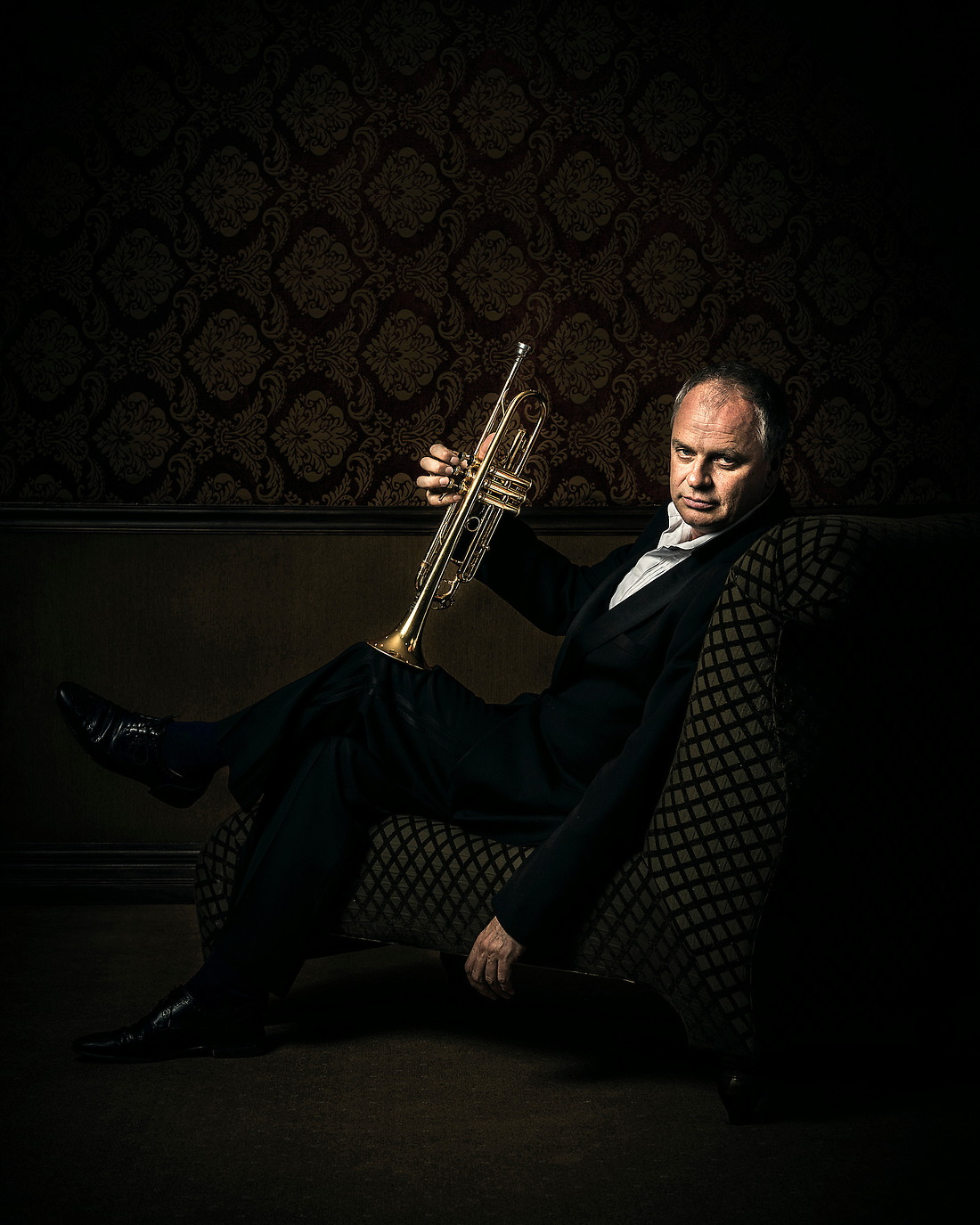 Jens Lindemann International Trumpet Soloist / Clinician and former member of Canadian Brass. — © Jeremy Lock/