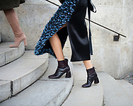 Slitted Skirt and Boots, Outside Ellery FW2017