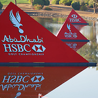 19.01.2013 Abu Dhabi, United Arab Emirates.  European Tour HSBC Golf championship  third round from the Abu Dhabi Golf Club.