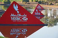 19.01.2013 Abu Dhabi, United Arab Emirates.  European Tour HSBC Golf championship  third round from the Abu Dhabi Golf Club.