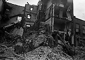 1963 - Houses collapse at 3/4 Fenian Street, Dublin