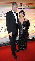 David Gregory and wife attend the 31st annual Kennedy Center Honors, at the John F Kennedy Center for the Performing Arts in Washington, DC on December 07, 2008