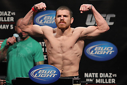 East Rutherford, NJ - May 04, 2012:   Jim Miller during the weigh-ins for UFC on FOX 3 at the Izod Center in East Rutherford, New Jersey.  Ed Mulholland for ESPN.com