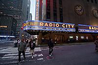Radio City music hall in New York City October 2008