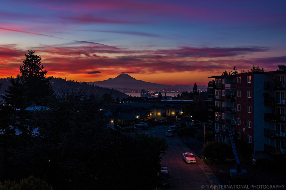 Mount Rainier, October Sunrise