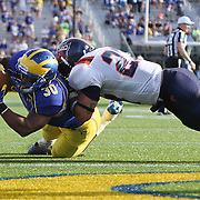 NCAA FOOTBALL 2012 - Sept. 15 - Delaware defeats Bucknell 19-3