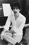 FRANK ZAPPA 1982 at home