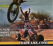 An image taken of Josh Fredericks winning Round #1 of the Worcs race made the cover of the AMX Newsletter for the Jan/Feb 2006 Issue.