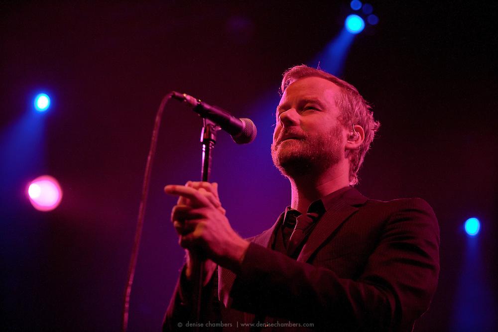 Matt Berninger of the National performs in support of High Violet on October 18, 2010 at the Fillmore Auditorium in Denver, Colorado