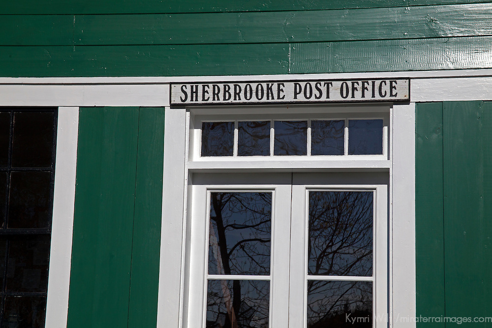 North America, Canada, Nova Scotia, Sherbrooke. Sherbrooke Post Office in Guysborough.