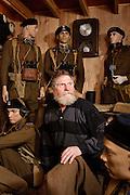 Gilbert Van Landschoot, owner of Polish-Canadian War Museum   in Adegem , Belgium on 2010-03-19  © by Wiktor Dabkowski