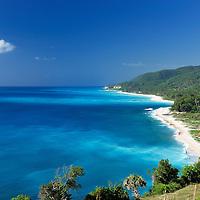 (m) Coast near La Cienaga, Barahona, Dominican Republic, Caribbean..
