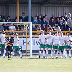 Alloa Athletic 2 v 1 Hibernian, Scottish Championship game 30/8/2014