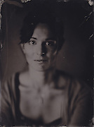 Alex, tintype portrait made with wetplate collodion process.