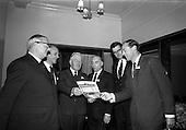 1964 Polypenco reception at Jury's Hotel