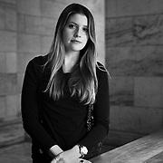 Portrait of New York writer Emily Jacobs.