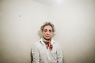 Alberto Garcia-Alix, Spanish photographer, in his studio in Madrid. 6 june 2013 Photo Alberto Paredes