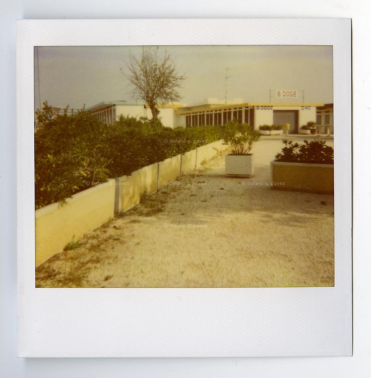 Sea side in Cervia, Italy