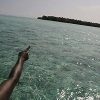 Han Island, Carteret Atoll, Papua New Guinea, on Sunday, Dec. 10, 2006.