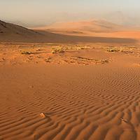 Sand dunes near Serra Cafema Camp, Wilderness Safaris, Kaokoland, Kunene Region, Namibia