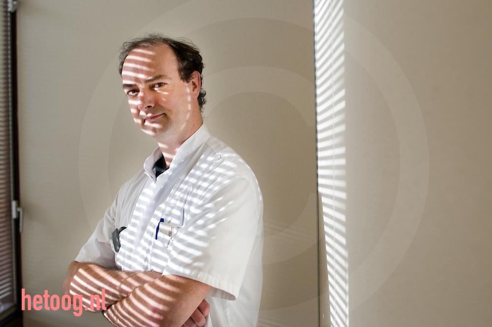 portret van reumatoloog Harold Vonkeman ..medisch spectrum twente