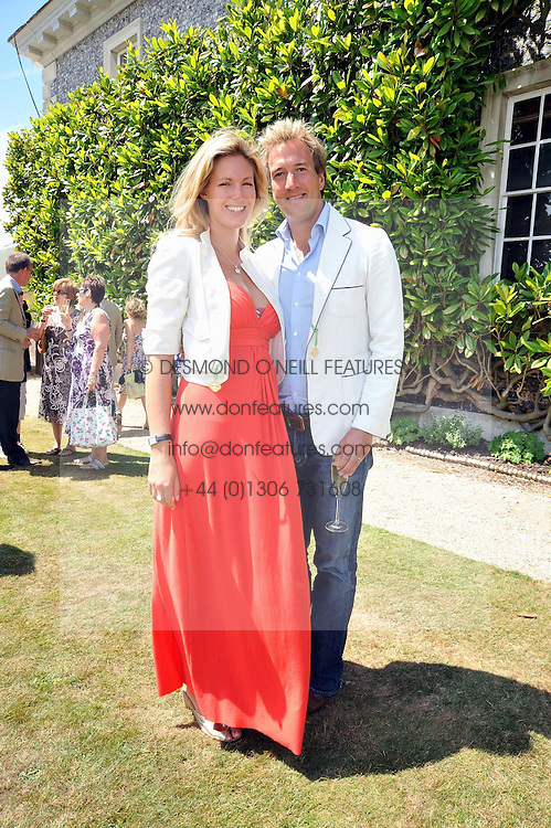 BEN & MARINA FOGLE at a luncheon hosted by Cartier for their sponsorship of the Style et Luxe part of the Goodwood Festival of Speed at Goodwood House, West Sussex on 5th July 2009.