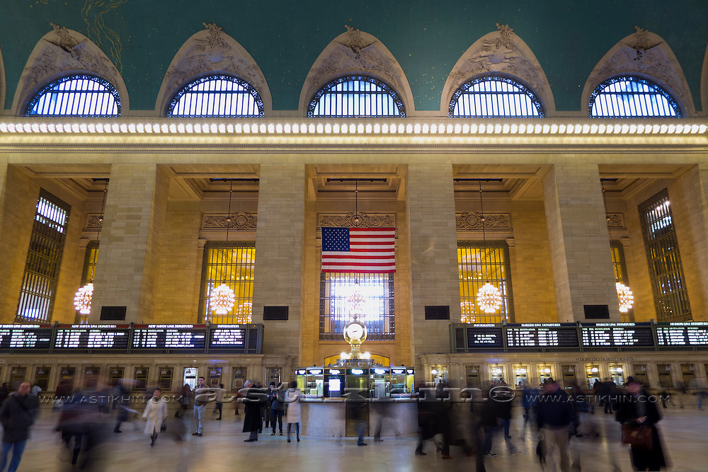 Grand Central Station, NYC, New York, USA