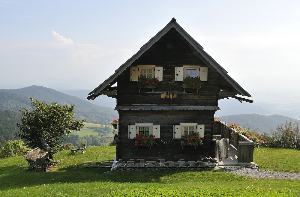 House in mountain