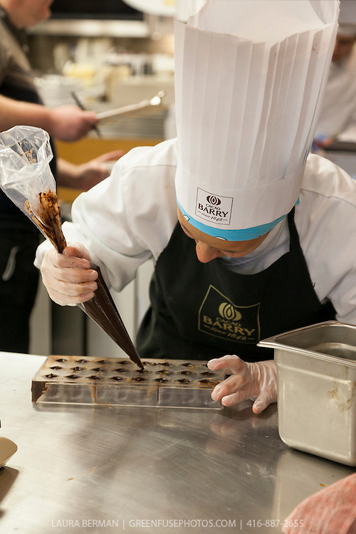 Hand-dipped Bonbons. Cacao-Barry Callebaut Canadian Intercollegiate Chocolate Competition April 21 - 22, 2012.