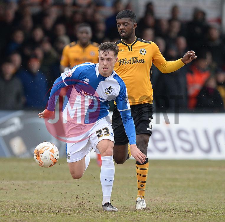 Billy Bodin of Bristol Rovers - Mandatory byline: Alex James/JMP - 19/03/2016 - FOOTBALL - Rodney Parade - Newport, England - Newport County v Bristol Rovers - Sky Bet League Two