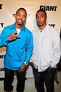 Terrence J and Fred Wit at The Giant Magazine Party, celebrating cover girl Kimora Lee Simmons and new Editor-in-Chief Emil Wilbekin, the award-winning editor as he unveils his debut issue.