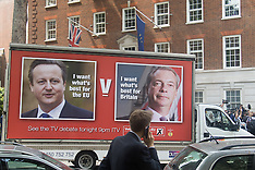 2016-06-07 Nigel Farage launches campaign poster ahead of Cameron TV debate
