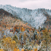 first snow in Hokkaido