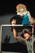 Bickering snails, opera singing mice and a rather spineless swamp monster. Using shadow puppetry and bits of rubbish including tinsel and string, acclaimed performer Jeff Achtem brings his gurgling new adventure about life in a swamp, with a stunning 3D finale.