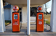 Lucille's Gas Station, Hydro Oklahoma..A September 2011 Route 66 trip, section 2,  from Joplin, Missouri to San Jon, New Mexico.