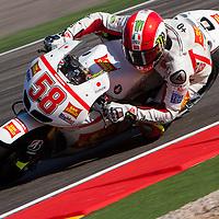 2011 MotoGP World Championship, Round 14, Motorland Aragon, Spain, 18 September 2011, Marco Simoncelli